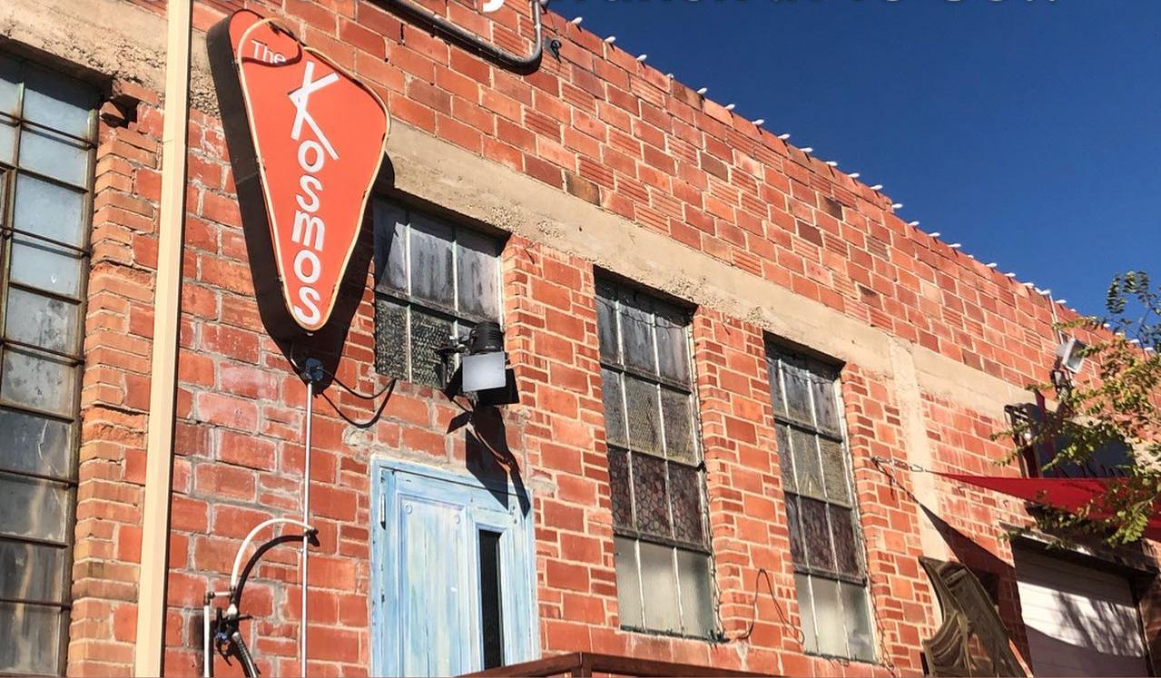 The Kosmos Restaurant Storefront