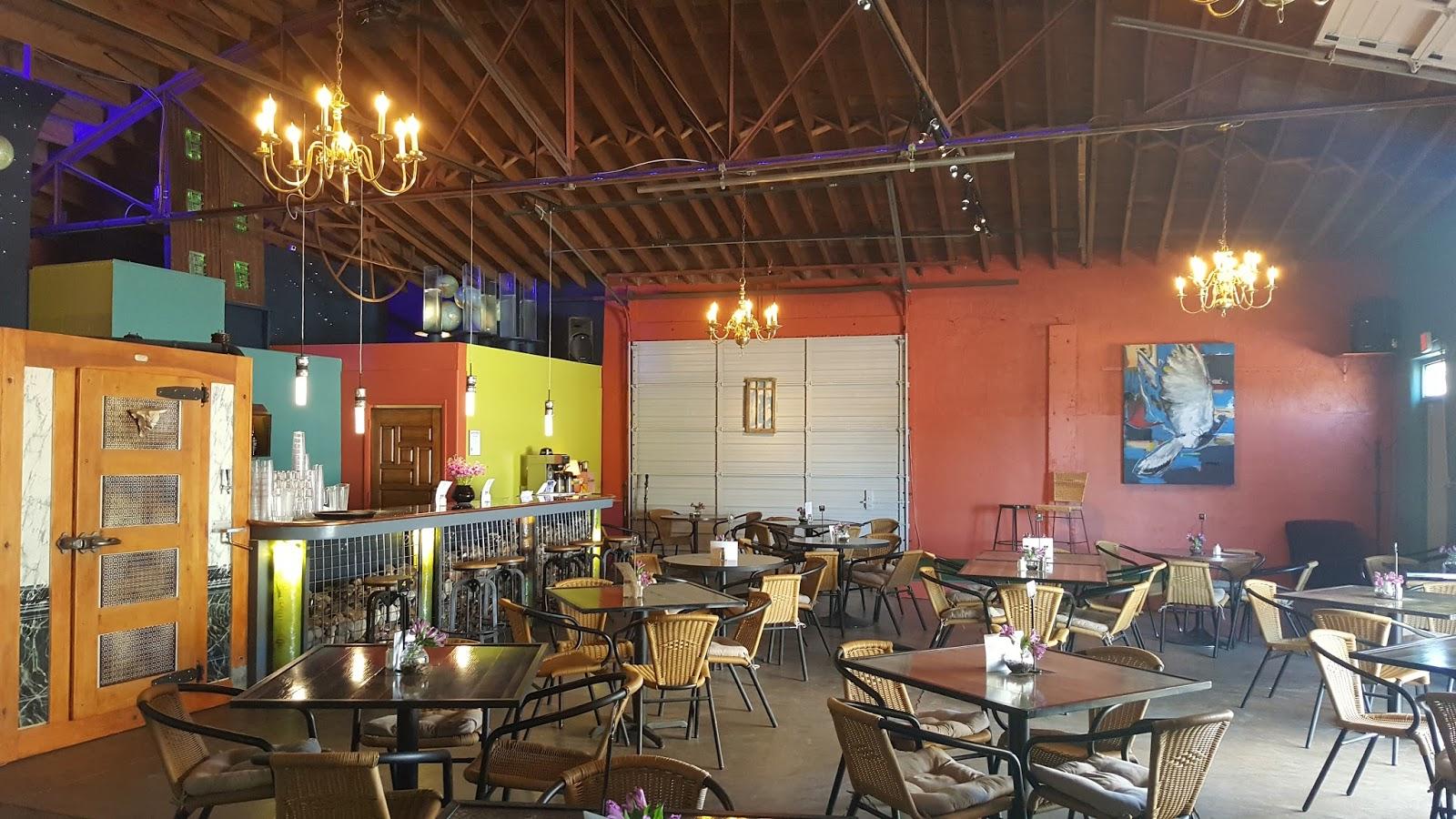 The Kosmos Restaurant Interior